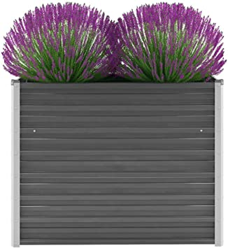 Galapara Blumenkasten Pflanzkasten   Holz Blumenkübel