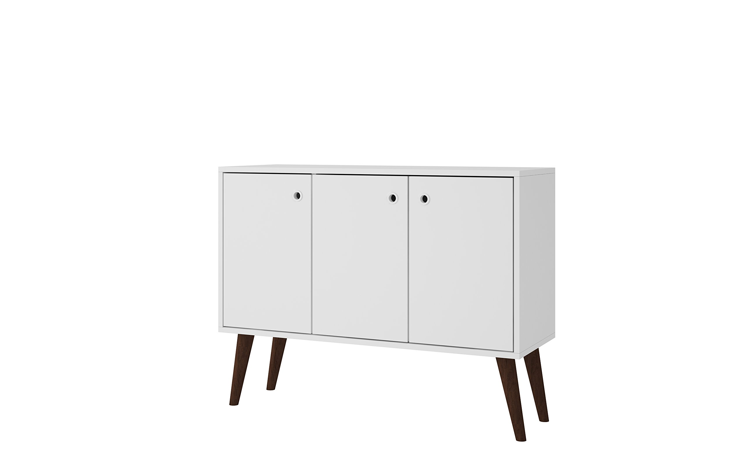 Manhattan Comfort 94AMC129 Bromma Stand Buffet Table, White by Manhattan Comfort