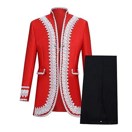 UFODB Abrigo para hombre, chaqueta gótica, falda, uniforme ...