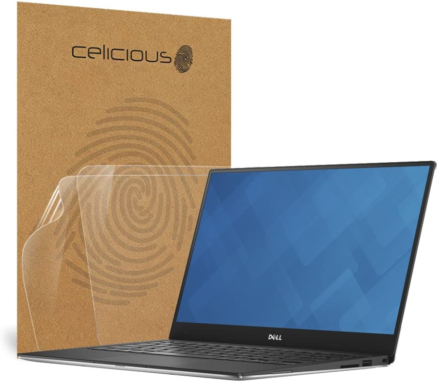 2-in-1 Celicious Privacy Lite 2-Way Anti-Glare Anti-Spy Filter Screen Protector Film Compatible with Dell XPS 13 7390