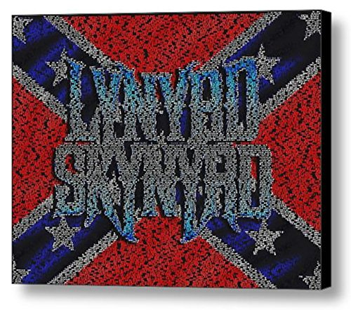 Lynyrd Skynyrd Song List Mosaic Incredible Framed 9x11 Limited Edition Art (Lynyrd Skynyrd Posters)