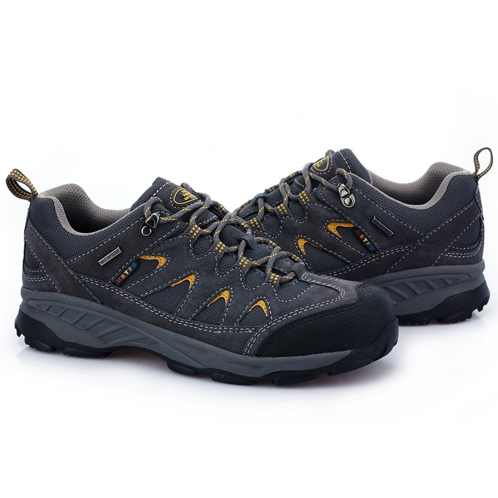 TFO Mens Outdoor Athletic Hiking Shoes Breathable Climbing Mountain Trail Trekking Sneaker
