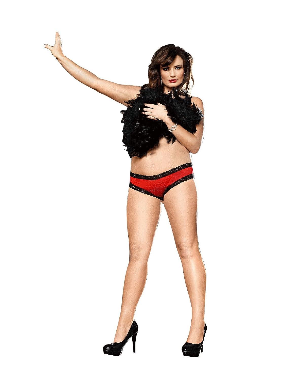 Baci Lingerie Women's Plus-Size Spanish Dreams Microfiber Boyshort Panties