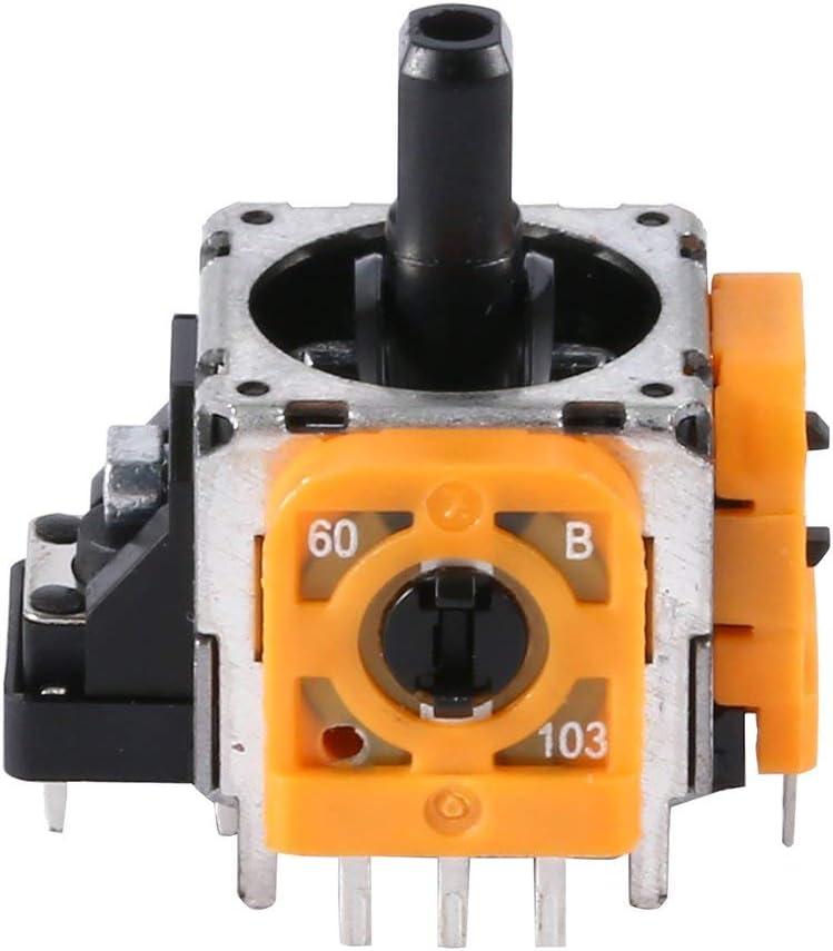 MachinYesell Module Thumb Stick Replacement Analog Joystick 3D pour PS4 Pro couleur: jaune