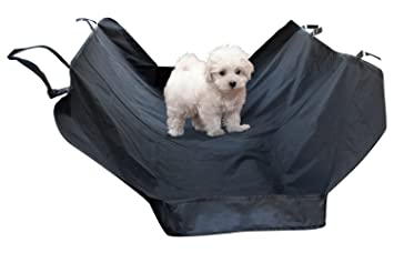 Paws Pals Pet Dog Car Seat Cover For Rear Bench 58quot