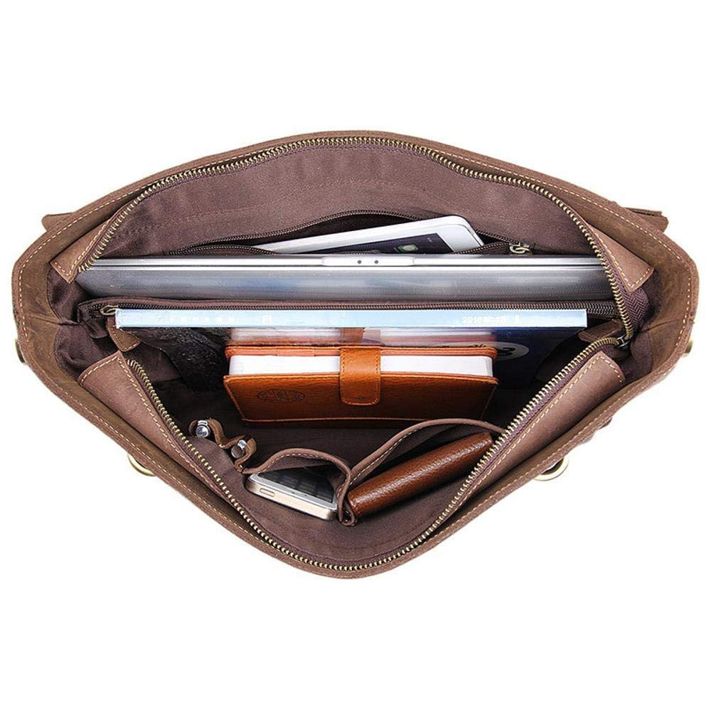 Botoushipeifangxiaomaipu Crazy Mapina Bag Casual Shoulder Bag Tote Briefcase Head Leather Man Bag