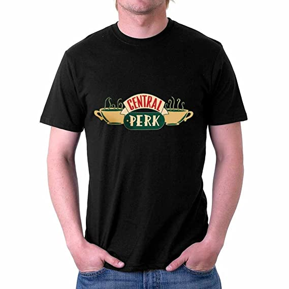 169bd9379996 The Souled Store F.R.I.E.N.D.S  Central Perk Classic Tv Show Printed  Premium Black Cotton T-