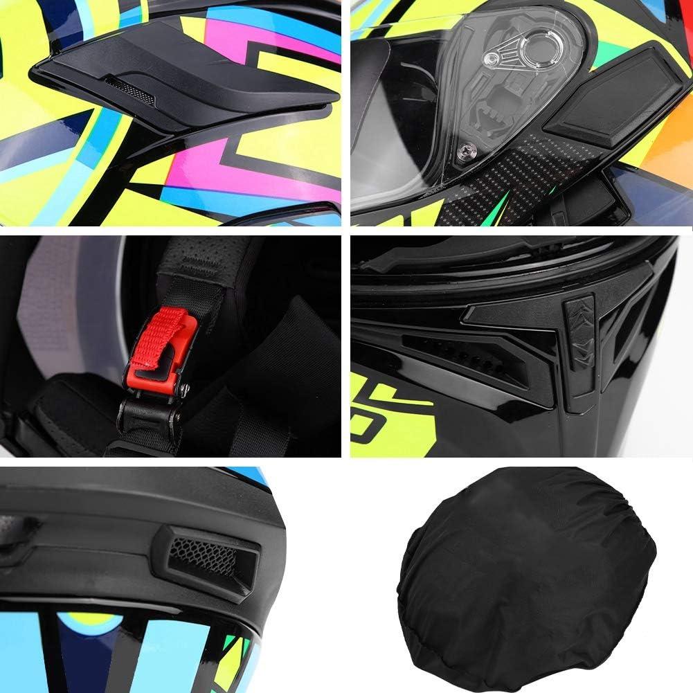 Casco integral de moto unisex adulto con forro varios colores a elegir