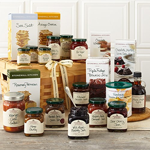 Stonewall Kitchen Best of the Best Gift Collection ( 21 Piece Gift Basket) (Best Breakfast Gift Baskets)