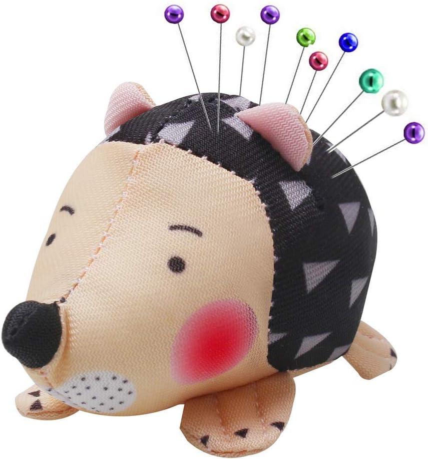 pengxiaomei Pin Cushion, Cute Hedgehog Shape Pin Cushion Sewing Needle Cushions Holder for Sewing DIY Crafts