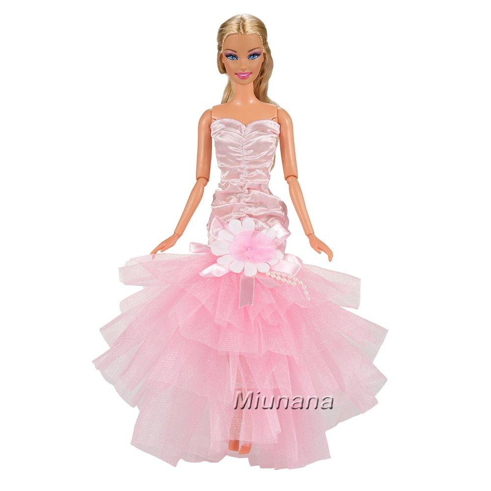 Amazon.es: Miunana 3x Princesa Vestidos de noche Novia Ropa Hermoso ...