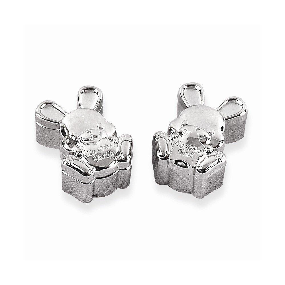 【超目玉】 ジュエリーBest Seller Seller nickel-plated 1st Tooth nickel-plated/ 1stカールバニーボックス Tooth B00LYVUXK6, インテリアコンポ2:df027f48 --- narvafouette.eu