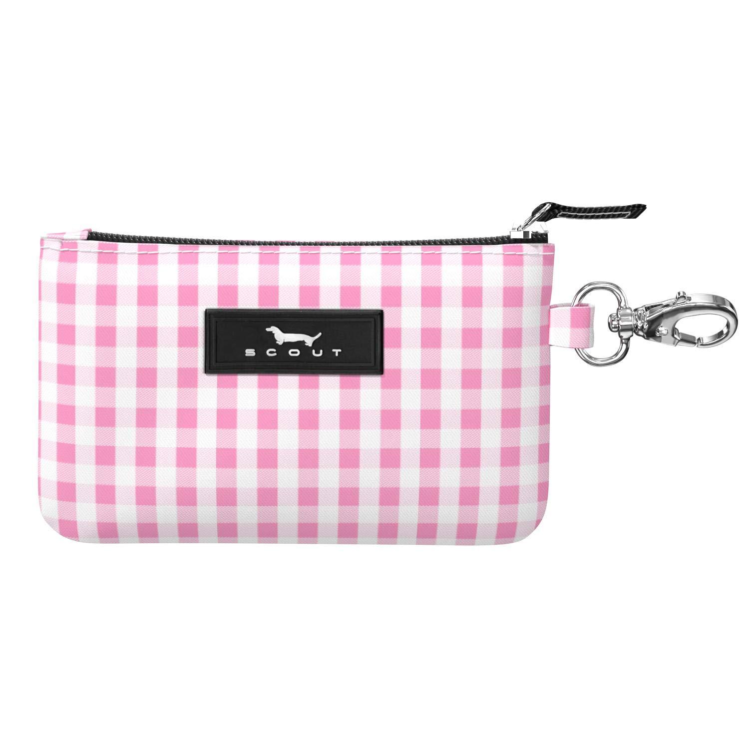 Small Card and ID Case for Women Mini Keychain Wallet with Zipper Closure Multiple Patterns Available SCOUT IDKase Card Holder