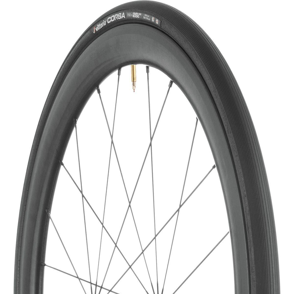 Vittoria Corsa G+, Color: Full Black, Size: 700x23c (1113CX0023111BX)