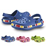 """Kids Unisex """"LEGO"""" Clogs - Waterproof Children's EVA Slip-On Shoes for Boys and Girls - By Tecsmo"""