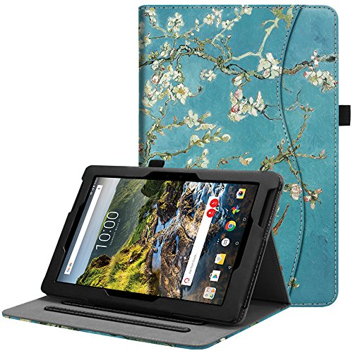 Fintie Verizon Ellipsis 10 HD Case 2017 Release - [Multi-Angle Viewing] Folio Stand Cover with Pocket Auto Wake / Sleep for 10