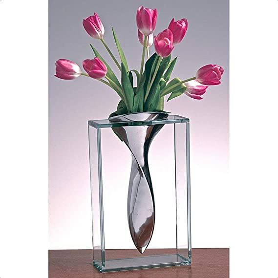 Hedley Clear Table Vase Home Kitchen