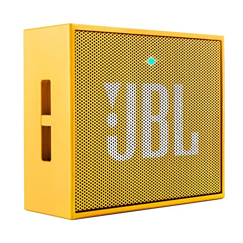 JBL GO Portable Wireless Bluetooth Speaker W/ A Built-In Strap-Hook (YELLOW)