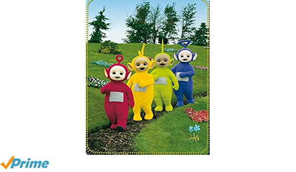 Teletubbies Manta Manta Po Dipsy Thinky Winky y Lala, 80 X 110 12578 *: Amazon.es: Hogar
