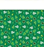 Plastic Banquet Table Cover, Shamrock Party St. Patrick's Day