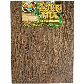 Zoo Med Natural Cork Tile Background, 18 X 24 Inch