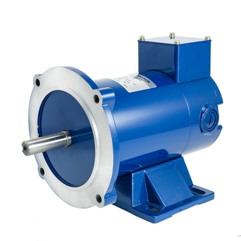 iMeshbean DC Motor, 1/4HP, 90VDC, 1800RPM, TENV, 56C With Removable Base,Permanent Magnet, Long Life USA