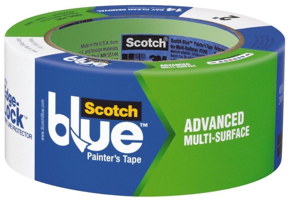 3M 2093EL-48N 1.88'' Scotch Blue Advanced Multi Surface Painters Tape