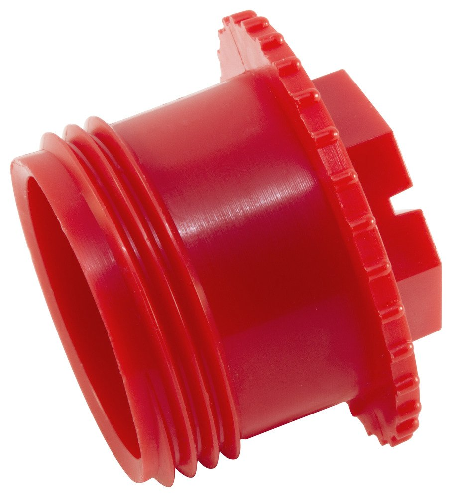 Red Caplugs Plastic Threaded Plastic Cap for Flared JIC Fittings to fit Thread Size 3//8-24 CD-3 to Fit Thread Size 3//8-24 Pack of 1000 PE-LD