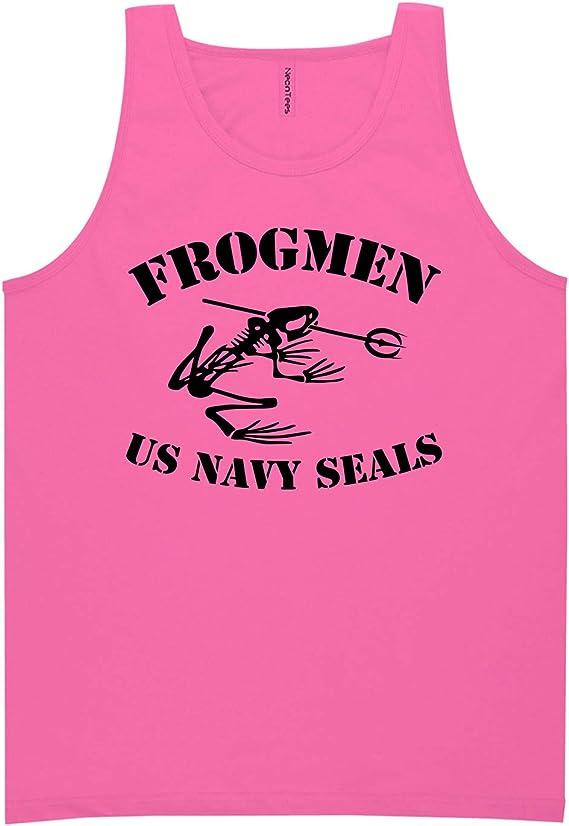 FROGMEN US Navy Seals Neon Tank Top