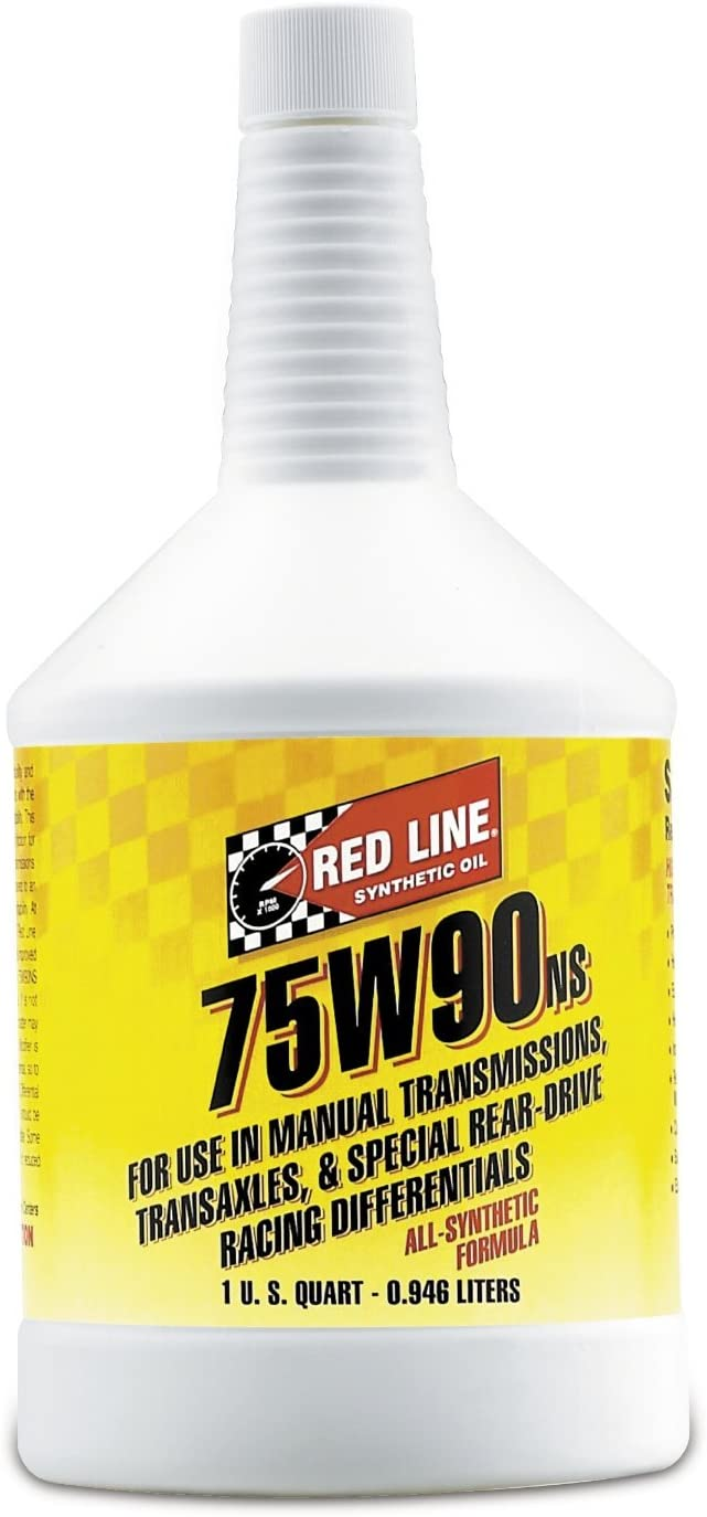 Red Line 58304 (75W90) Non-Limited Slip Synthetic Gear Oil - 1 Quart (Pack of 6)