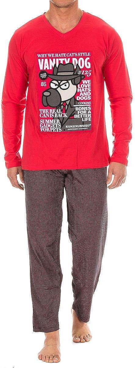 Kukuxumusu Pijama Cab.M/Larga
