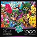 Buffalo Games Hummingbird Garden Jigsaw Puzzle from the Vivid Collection (1000 Piece) from Buffalo Games, LLC