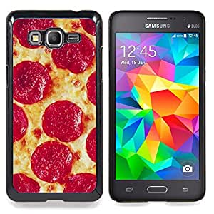 - Pizza Pepperoni Italian New York Food - - Monedero pared Design Premium cuero del tir???¡¯???€????€???????????