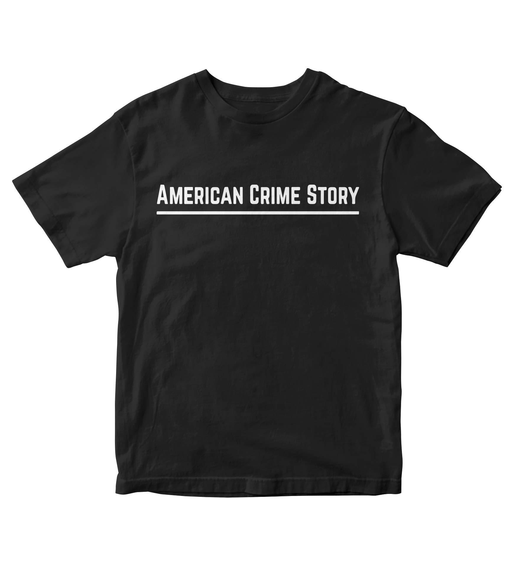 Tjsports American Crime Story Black Shirt S Tv Show M170