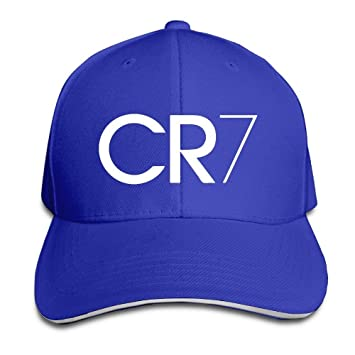 Facsea Runy Custom CR7 Logo Adjustable Baseball Hat /& Cap Black