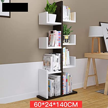 XQY Home Bedroom Bookcase Bookshelf Solid Wood Multifunction Cactus Shape Floorstanding Multi Layer 6 Colors