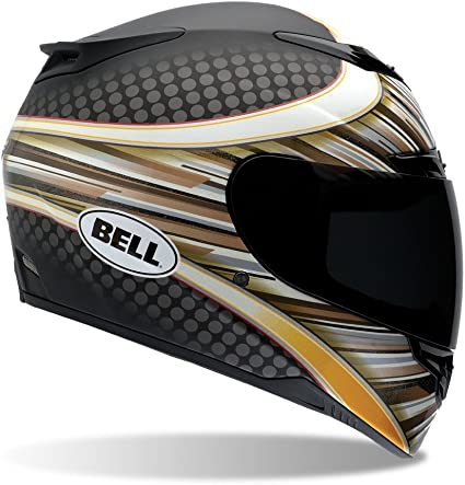 ,M Black Solid Bell Powersports Casques Street 2015 RS-1 High Visibility Casque pour Adultes Noir