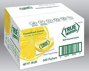 True Lemon Bulk Pack, 0.03 Ounce (Pack of 500)