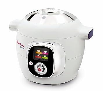 Moulinex , CE701010 , Cookeo , Multicuiseur Intelligent avec 50 recettes ,  Blanc