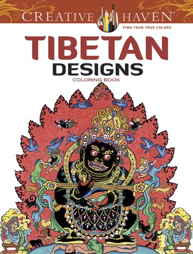 Tibetan Buddhist Deities (Creative Haven Tibetan Designs Coloring Book (Adult Coloring))