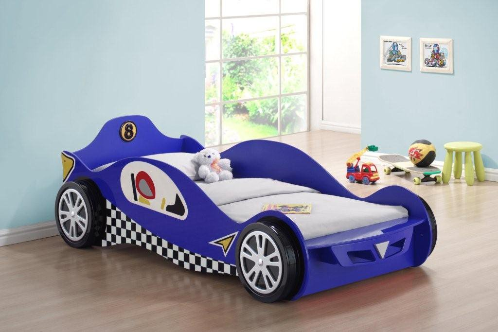 cool kids car beds. Delighful Car Gizmo Mill CHIC BLUE McLAREN RACER KIDS CHILDREN BED Amazoncouk Kitchen  U0026 Home On Cool Kids Car Beds R