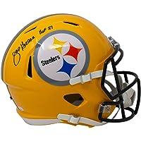 $379 » Joe Greene Signed Pittsburgh Full Size Speed Replica Helmet HOF 87 JSA