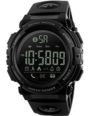 SKMEI Smartwatch Deportivo con Pantalla Digital Resistente al Agua con Funciones de Salud Notificaciones Podómetro Contador de Calorías Cronómetro Medidor de Distancia Modelo 1303