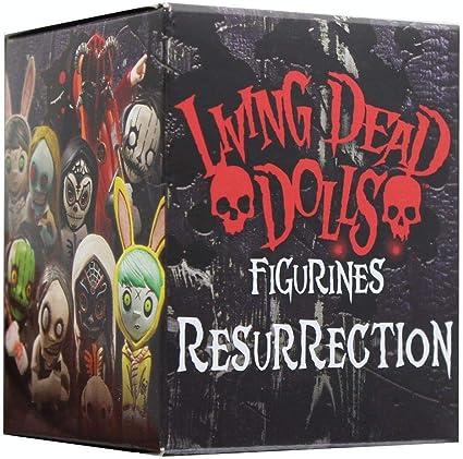 "WALPURGIS LIVING DEAD DOLLS FIGURINES 2/"" RESURRECTION MEZCO BLIND BOX"