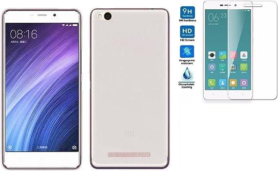 Todobarato24h Funda TPU Lisa Compatible con Xiaomi redmi 4a Blanca ...