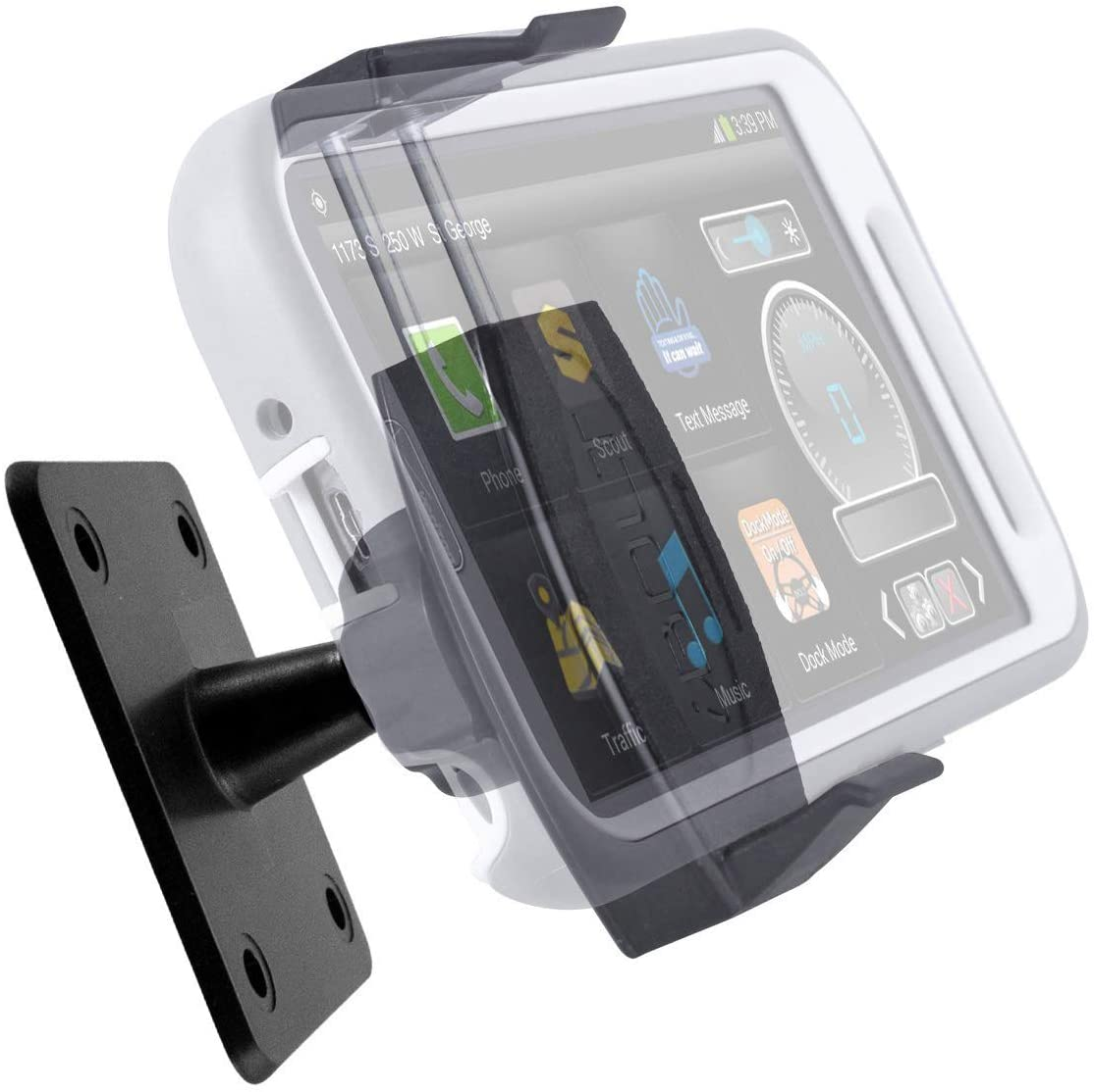 iBOLT dashboard cell phone holder for semi trucks