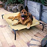 Elevated Dog Bed - Coolaroo Deluxe Dog Bed - DESERT SAND EXTRA LARGE