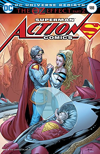 ACTION COMICS #988 LENTICULAR ED (OZ EFFECT) Release date 9/27/17