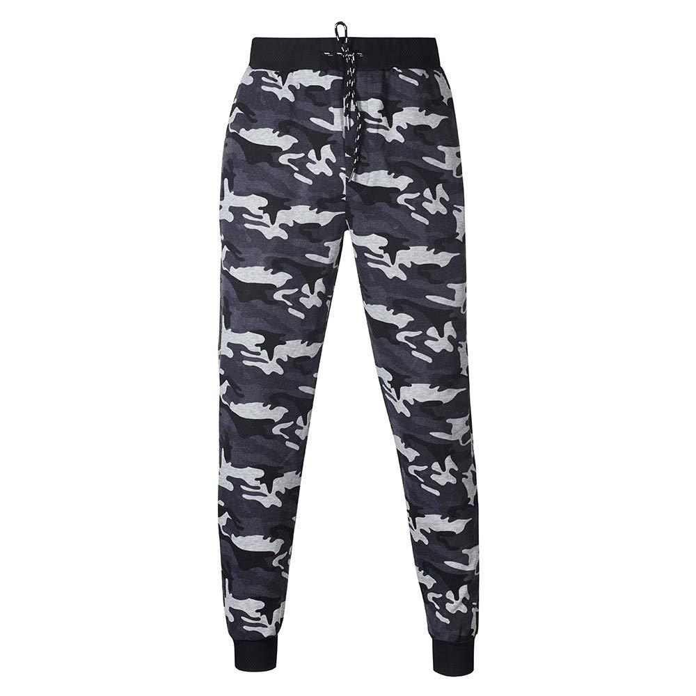 Los Hombres de otoño Invierno Impreso Sudadera Pantalones Superiores Conjuntos de Trajes Deportivos chándal por Internet: Amazon.es: Ropa y accesorios