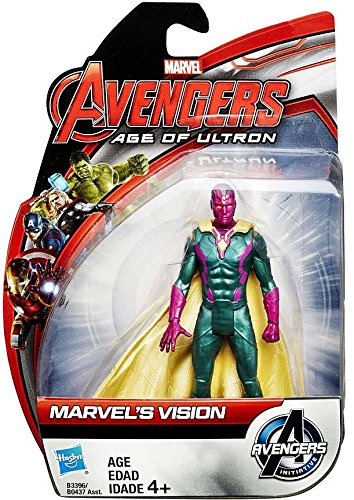 Marvel Avengers Age of Ultron Marvel's Vision Action Figure 3.75 Inches -